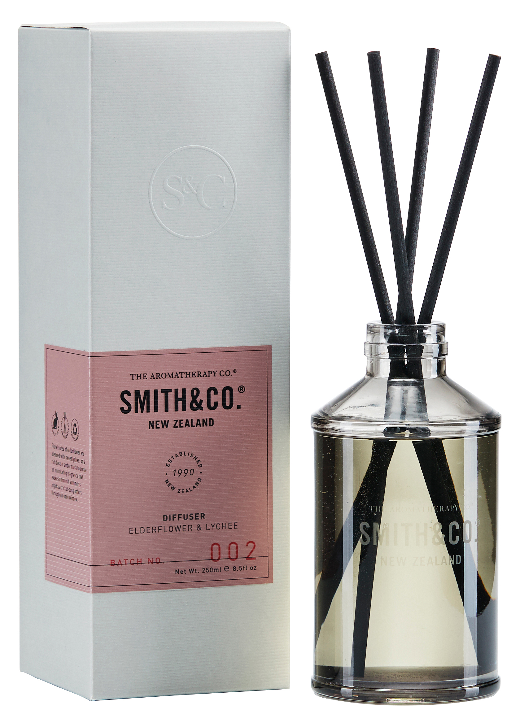 Elderflower & Lychee Diffuser från Smith & Co.