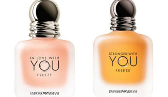 Emporio Armani In Love With You Freeze och Stronger With You Freeze